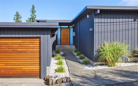 incredible midcentury exteriors  curb appeal ideas