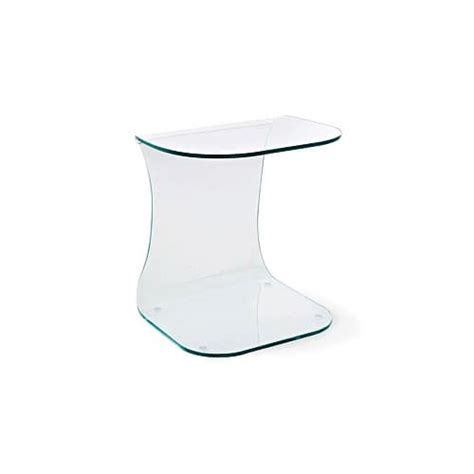 small glass side table bedside table in glass small table for breakfast side