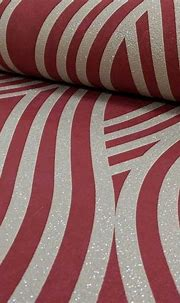 Carat Geometric Glitter Wallpaper Gold and Red P+S 13345 ...