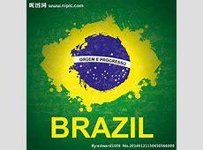 巴西国旗矢量图__广告设计_广告设计_矢量图库_昵图网nipiccom