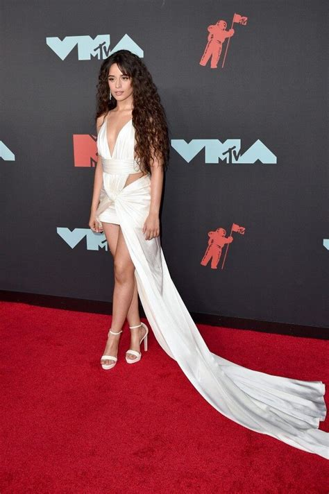 Camila Cabello Shawn Mendes Arrive Separately Mtv