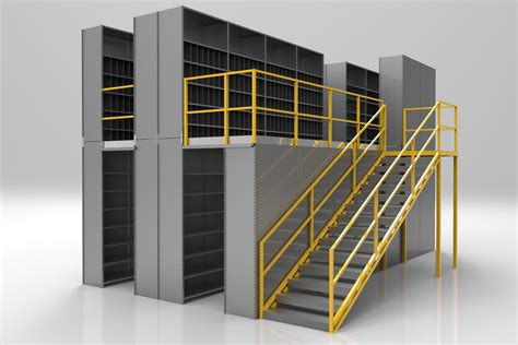 Shelving And Storage Systems by Steel Shelving Mezzanine Rack Systems Inc