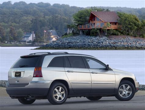 2002 Chrysler Pacifica by 2007 Chrysler Pacifica Pictures History Value Research