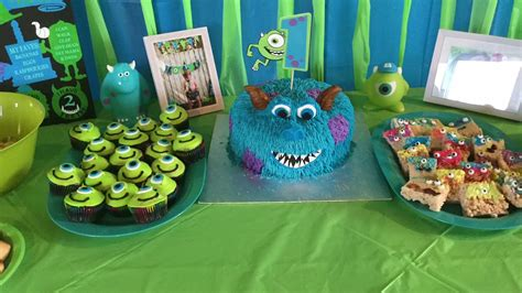 monsters  themed st birthday party diy party
