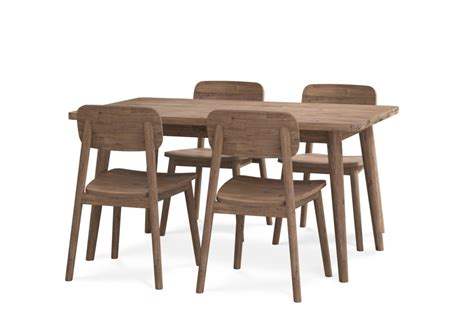 Their collection consists of sofas, coffee tables, chairs, barstools, benches, mirrors, shelves, shoe storage, and even rugs and mats. Seb Extendable Dining Table with 4 Chairs   Castlery Singapore