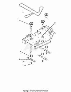 Ariens 915207  016000 -   Ikon-x 42 Parts Diagram For Deck  Belt  Blades And Spindles
