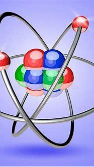 Atom 3d stock vector. Illustration of sphere, atom ...