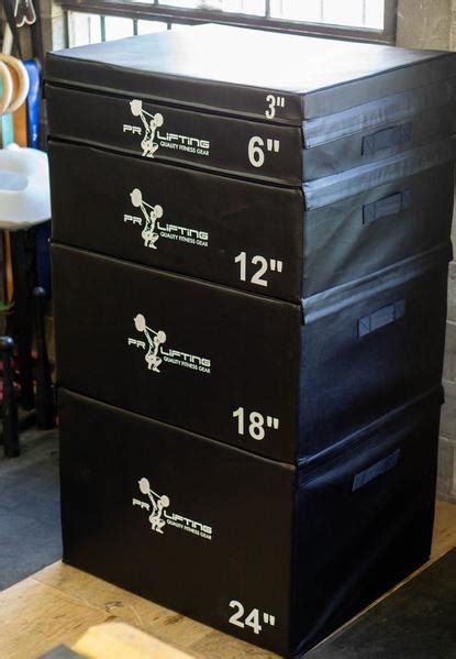 plyo boxes stacking foam blocks jerk shopify pr