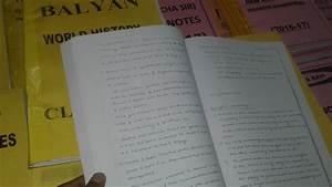 BALYAN SIR INSIGHT HISTORY OPTIONAL FULL CLASS NOTE