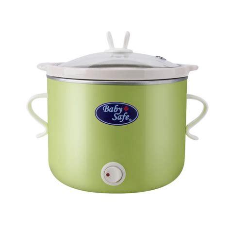 cooker safe slow button pink shopee lb babysafe slowcooker jual alat
