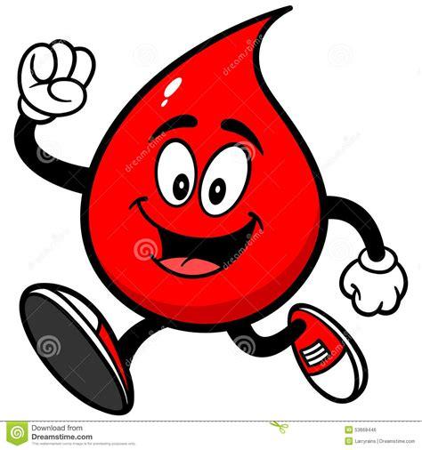 Darah Murni Blood Born blood drop running stock vector illustration of