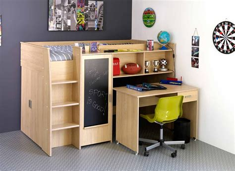 bunk bed desk combination bed desk combo for small children s bedroom