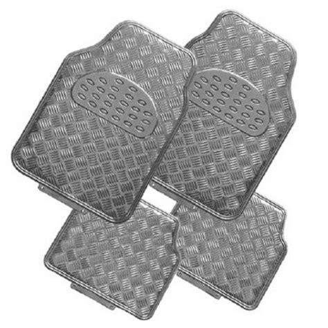 tapis de sol voiture alu avec effet carbone