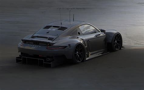 Road Legal 2017 Porsche 911 Rsr Rendered As Mid-engined