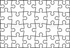Puzzle Zum Ausdrucken : puzzle vorlage hintergrund f r ihre firmenpr sentation ~ Lizthompson.info Haus und Dekorationen