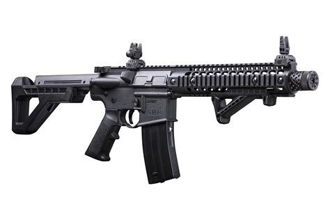 crosman dsbr dpms sbr bb full auto compact rifle
