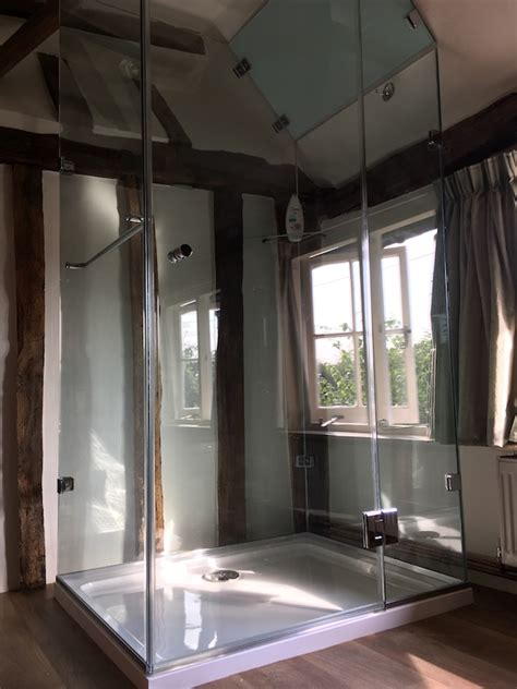frameless glass shower screens shower enclosures kent