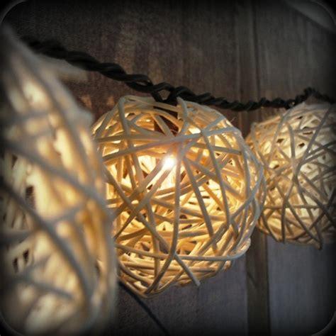 festive diy string lights