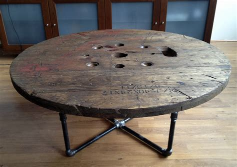 large wooden spools used for tables unique and functional ways to use wire spool table