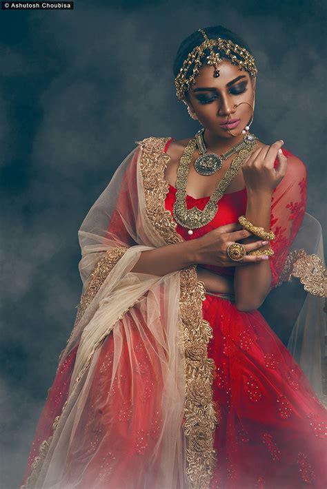 indian beauty  behance
