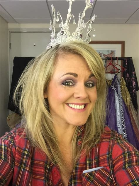 sally lindsay shows her impressive mature tits the