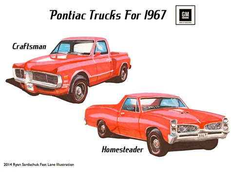 What If Pontiac Made Trucks In The 60s? By