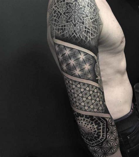 dotwork  sleeve tattoo  tattoo ideas gallery
