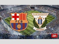 Barcelona 21 Leganés Resumen, goles y resultado Narración