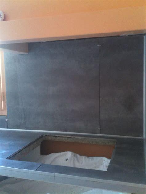 carrelage pour plan de travail cuisine concept carrelage création crédence et plan de travail en 80x80 cm gris