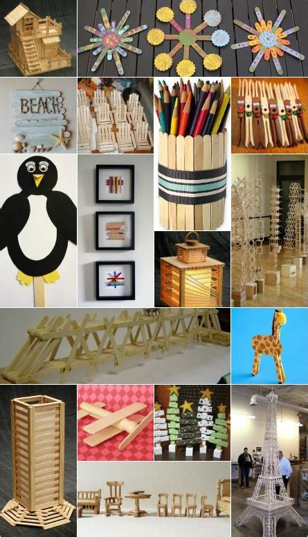popsicle sticks crafts images  pinterest