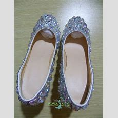 Exclusive Colorful Crystal Rhinestones High Heeled Shoes