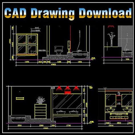 Bathroom Design Cad Blocks by The World S Catalog Of Ideas