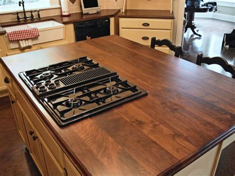 wood island tops kitchens butcher block countertops modern diy designs