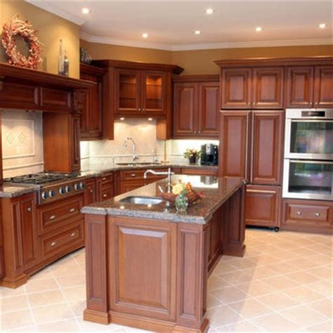 kitchen wall colors with cherry cabinets design pictures
