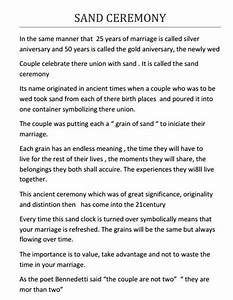 Dreams riveria cancun sand ceremony script wedding for Beach wedding ceremony script
