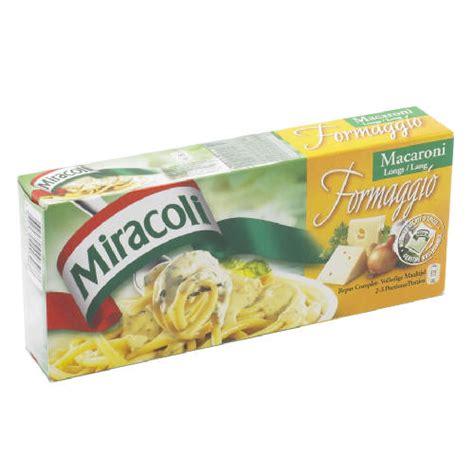 Miracoli - Formaggio Kaas, cheese, fromage sauce, macaroni ...