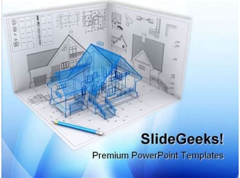 home project architecture powerpoint templates