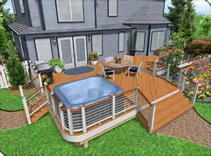 Smart Placement Patio Deck Design Ideas Ideas by Landscape Design Software Overview