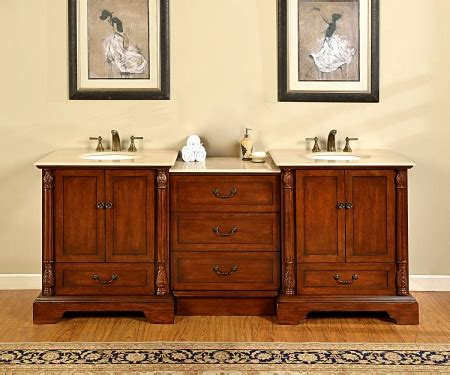 double sink bathroom vanity  middle cabinet