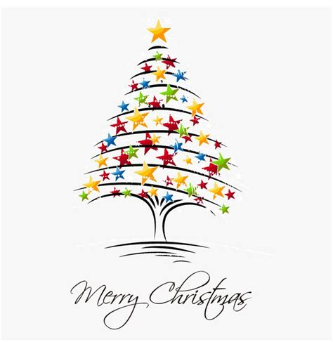 christmas tree vector illustration 2 free vector