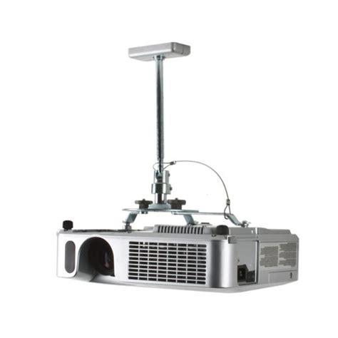 Diy Projector Mount Drop Ceiling by B Tech Projector Ceiling Mount With Drop Silver