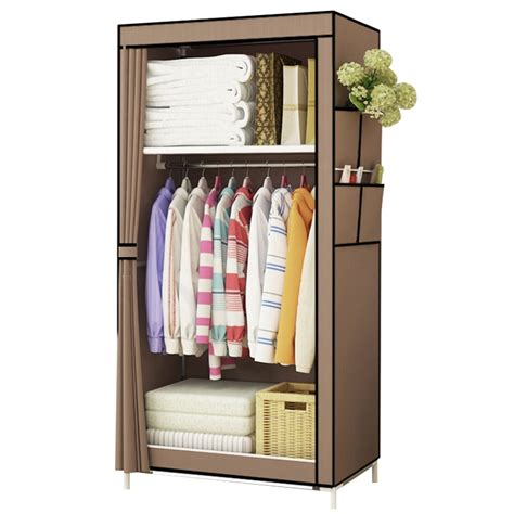 Small Clothes Cabinet by Students Dormitory Small Wardrobe Single Cloth Wardrobe