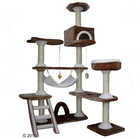 arbre a chat maison arbre 224 chat maison en d 233 pice marron blanc