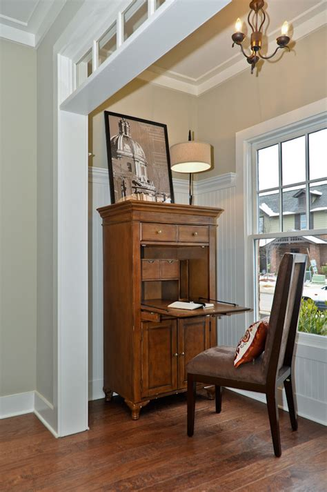 office desk in living room secretary desk with hutch living room traditional with