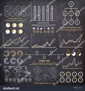 Big Set Of Business Infographics Elements With Different Statistical Graphs And Charts To