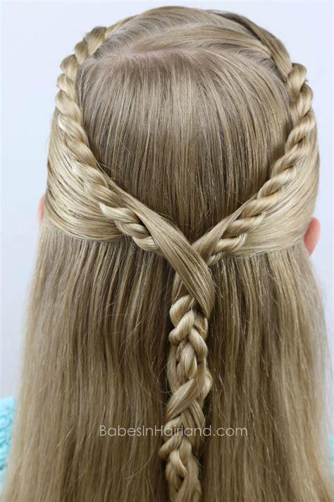 rope twist hawser braid pullback babes  hairland