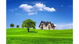Little House on the Prairie Nature 4K Wallpaper