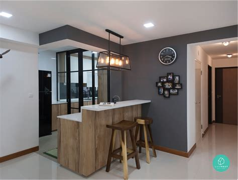kitchen island table designs 6 brilliant 4 room hdb ideas for your home