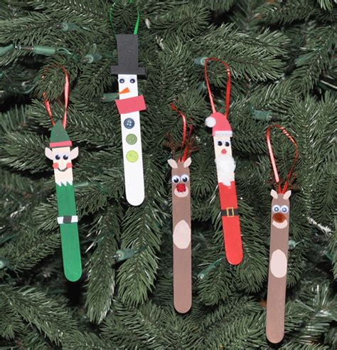 diy popsicle stick christmas ornaments vicky barone