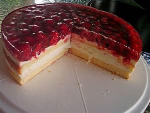 Himbeer Philadelphia Torte : himbeer k sesahne torte rezept mit bild von ~ Lizthompson.info Haus und Dekorationen